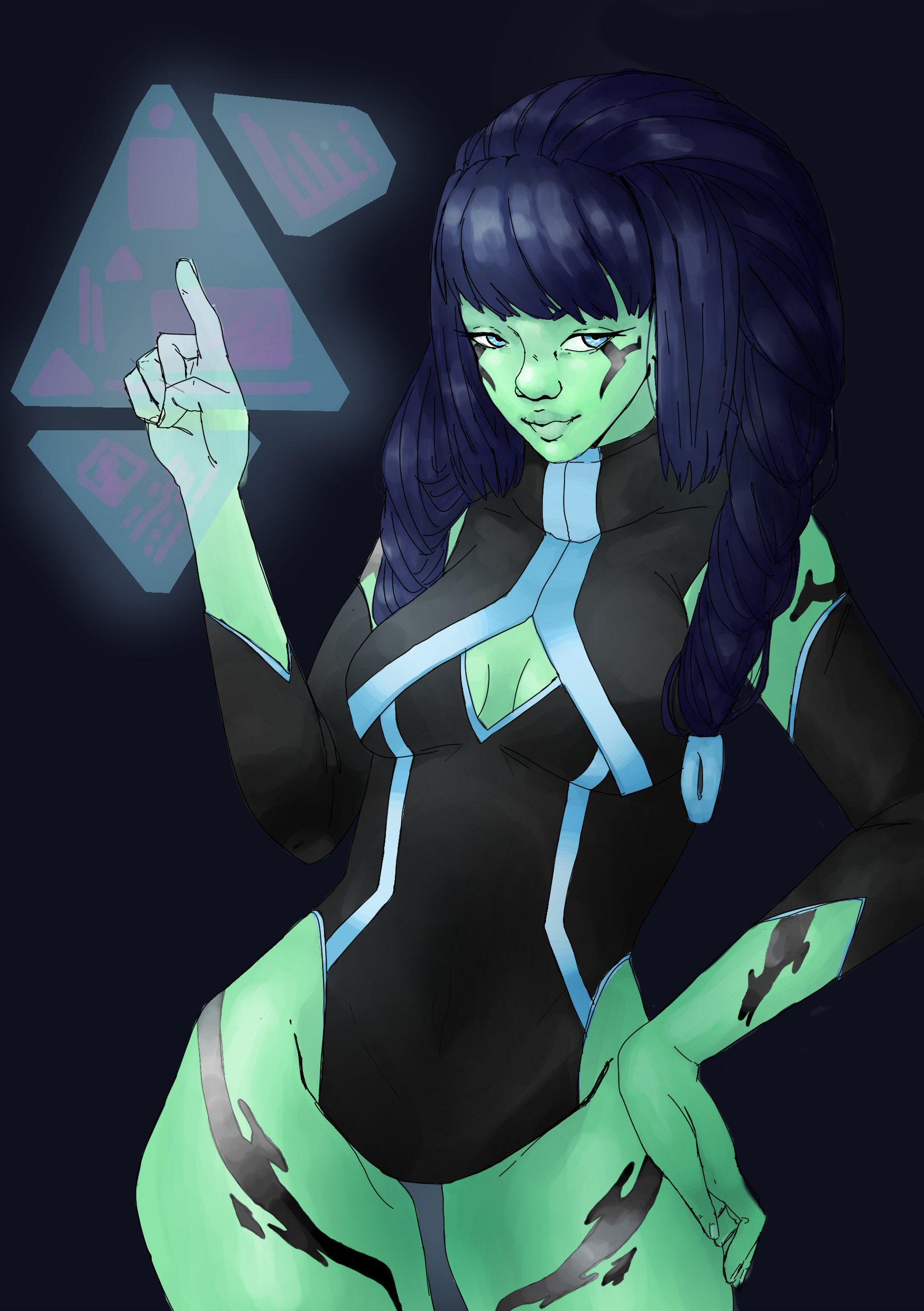 Anime Alien Girl grace taylor - more alien women :p