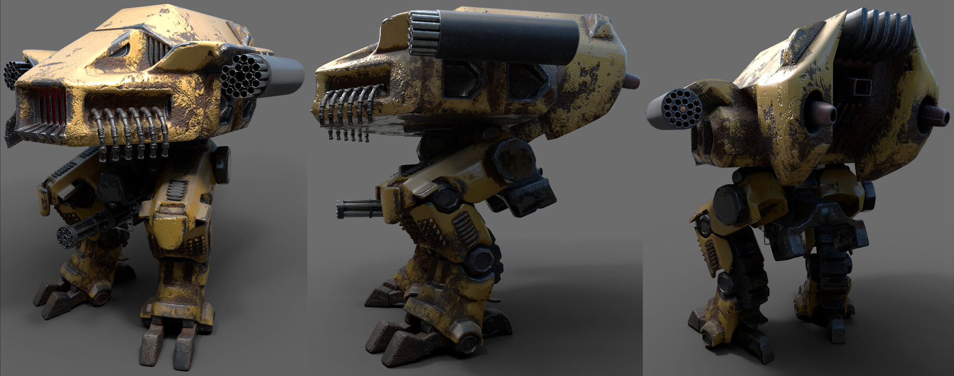 Josh mccann mech together