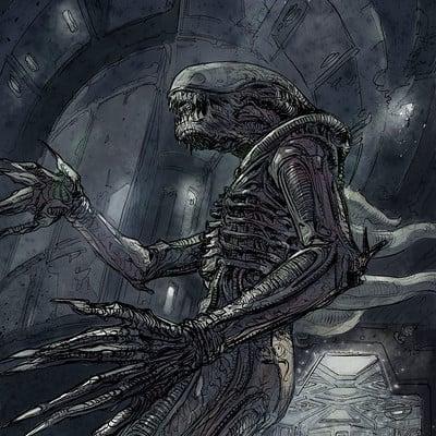 Daniele afferni daniele afferni artist alien nostromo