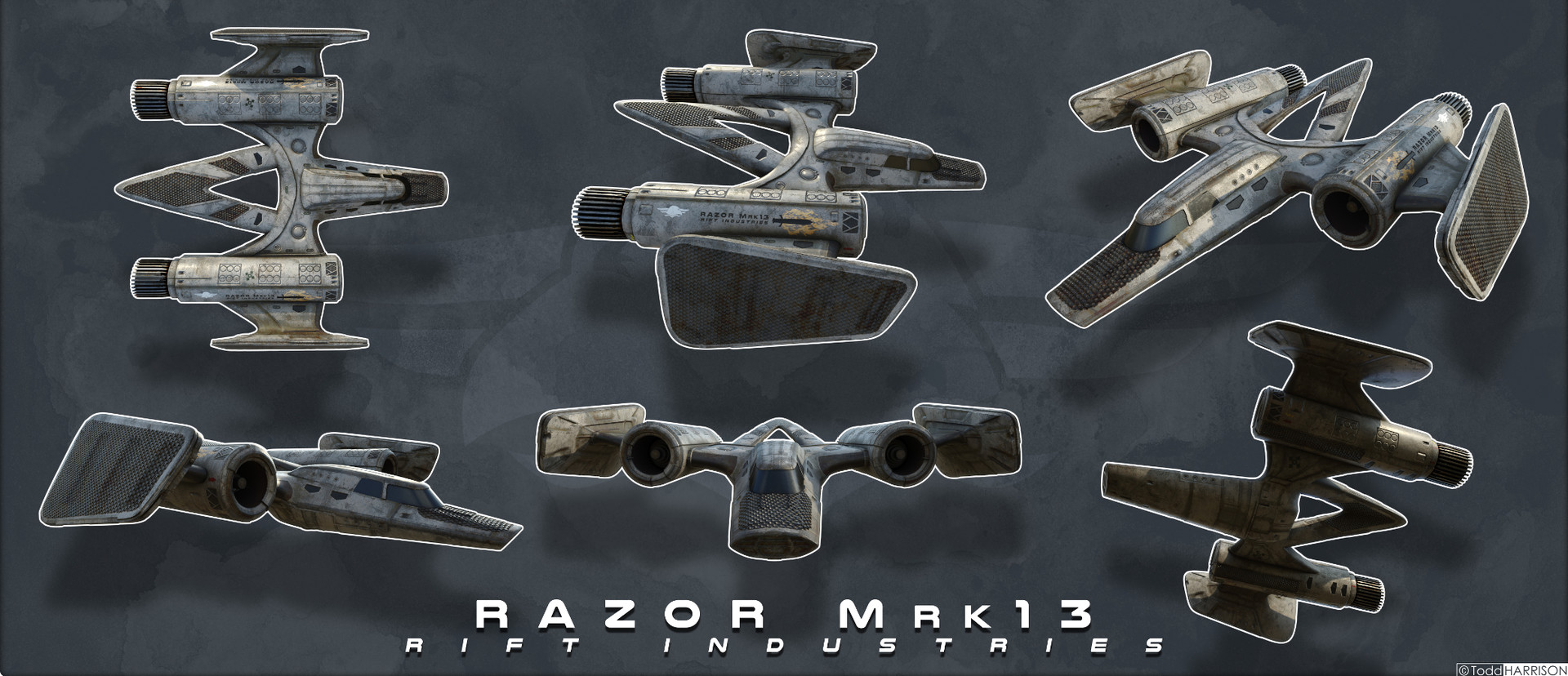Todd harrison ri razor mrk13 6v low