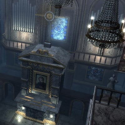 Assassin's Creed: Brotherhood Environment Art