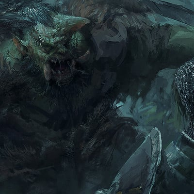 Lucas orstrom orc fightingscene