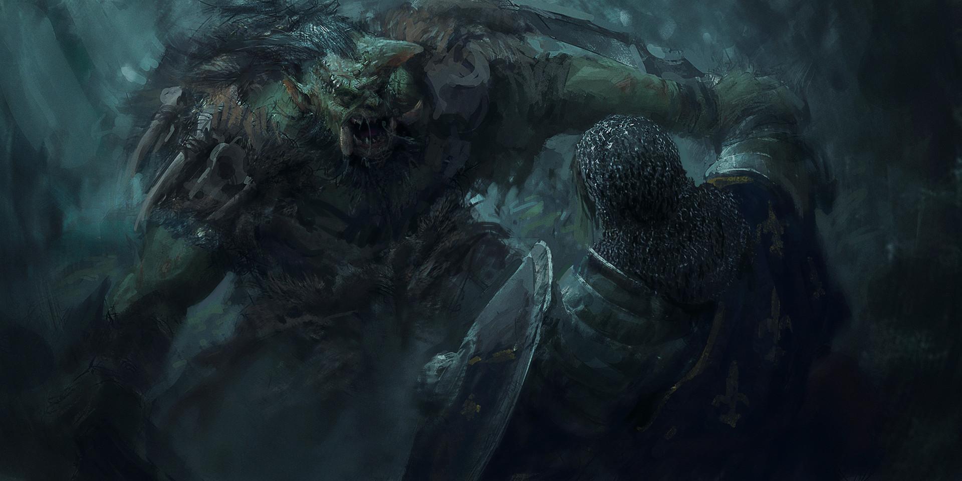 Lucas orstrom orc fightingscene