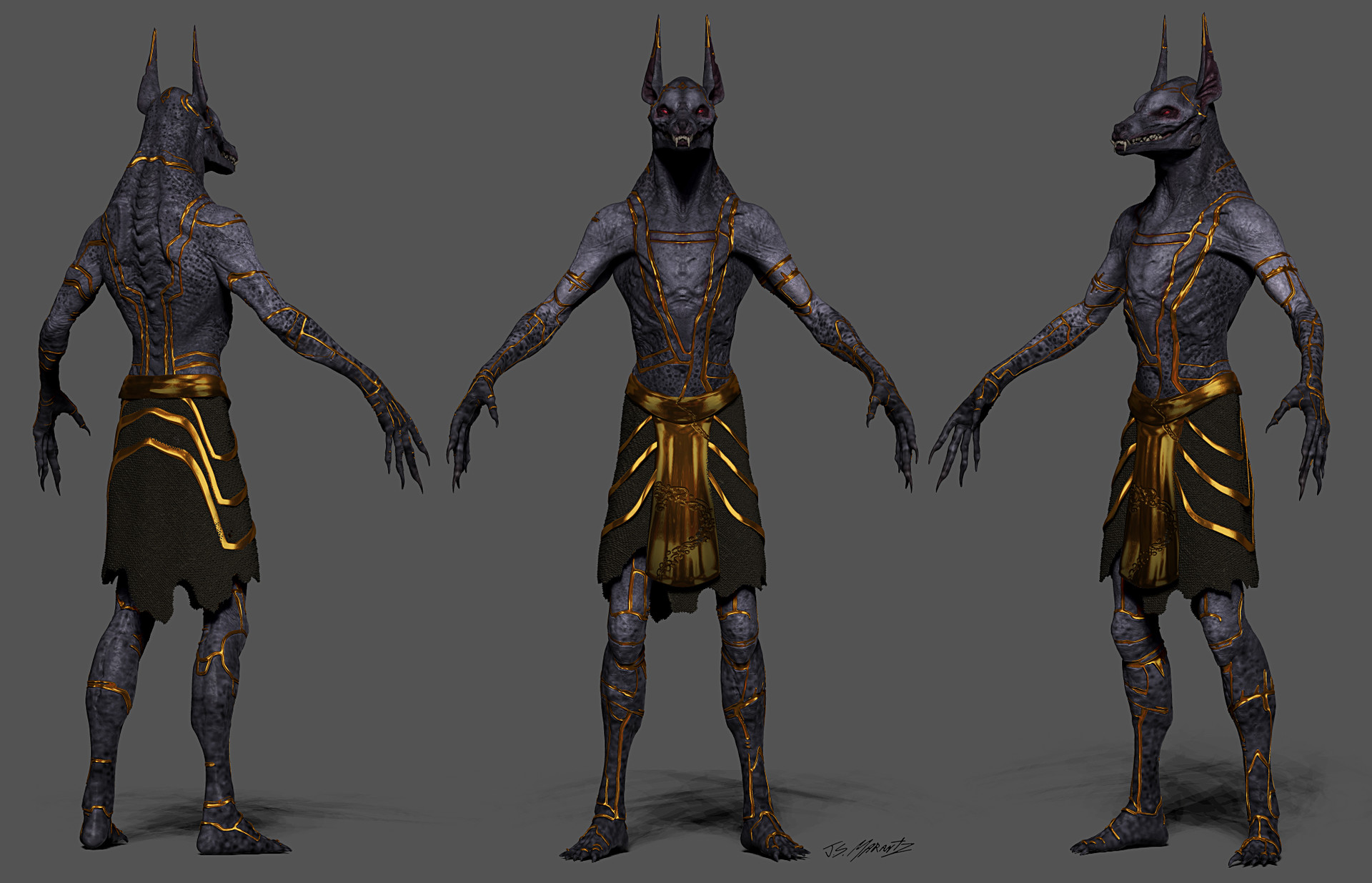 Artstation Gods Of Egypt Anubis Designs Jerad Marantz