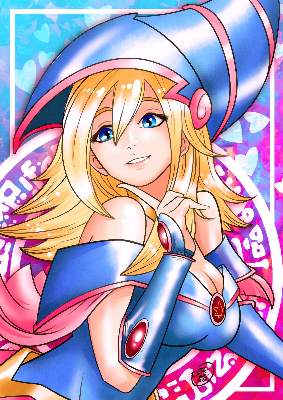 Artstation - Dark Magician Girl, Max Silveira-2069
