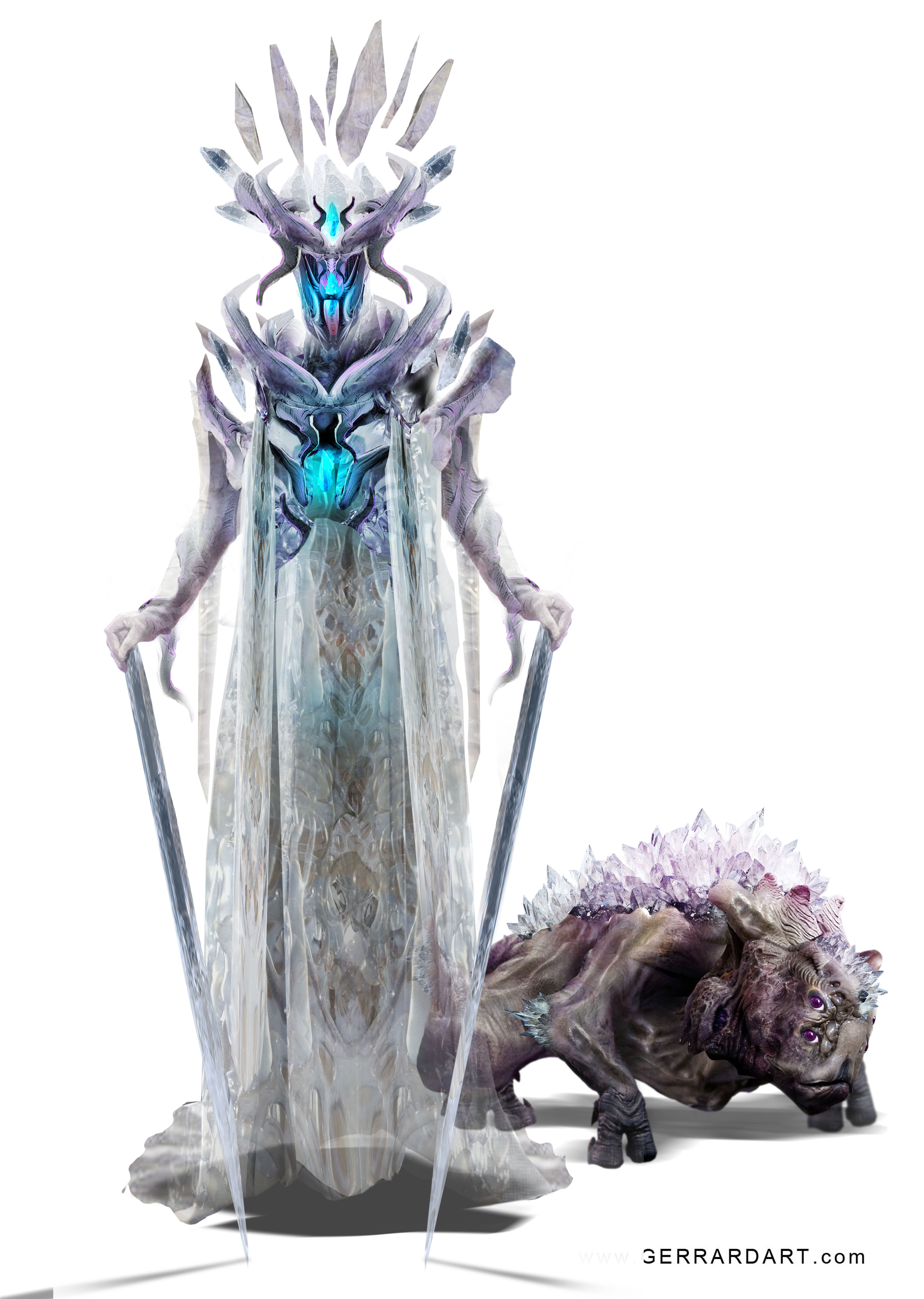 THE CRYSTAL KING   Characters from a new Graphic Novel.  THE CRYSTAL KING : Rise of Atlantis.