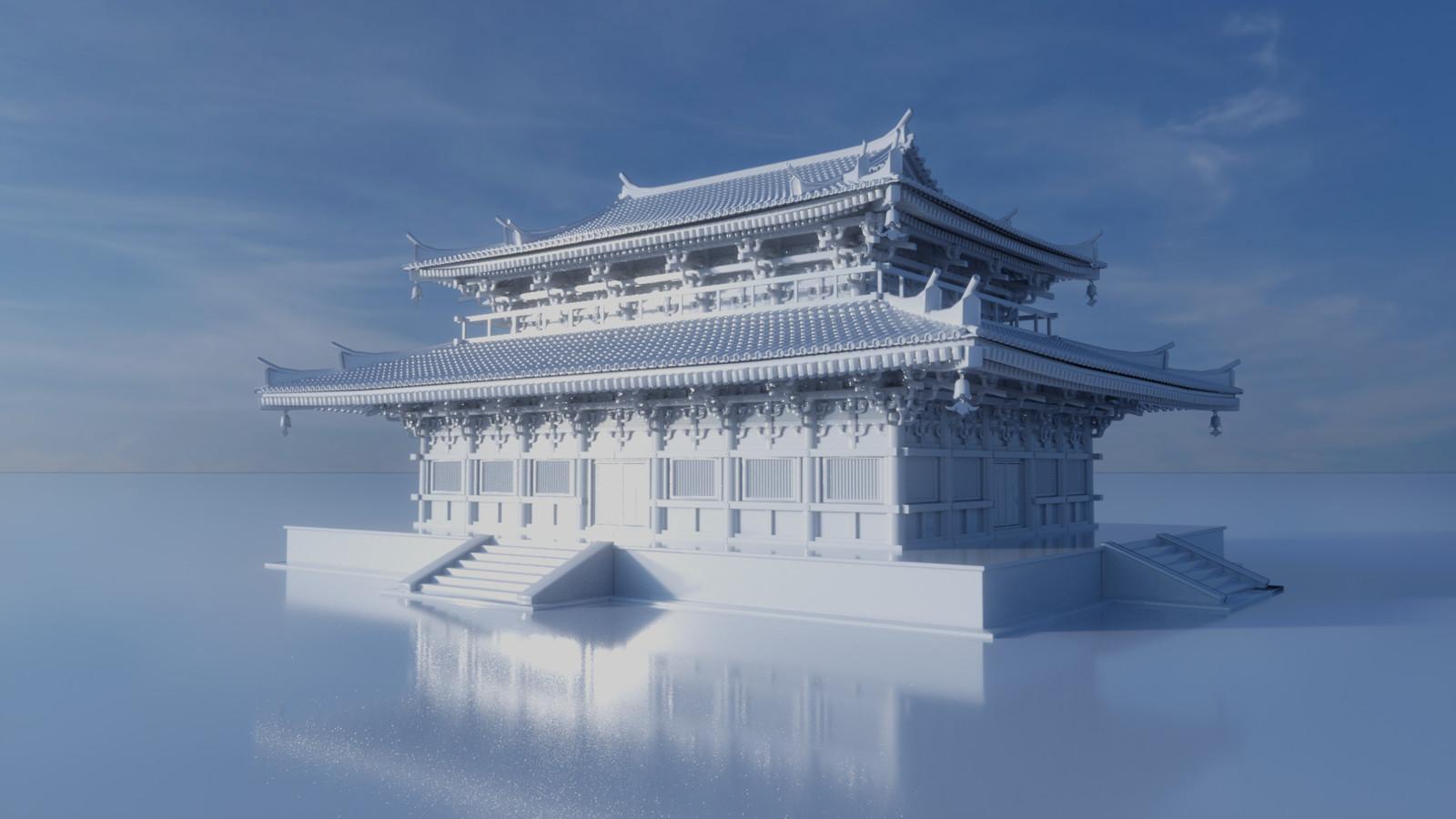 Temple Building 2