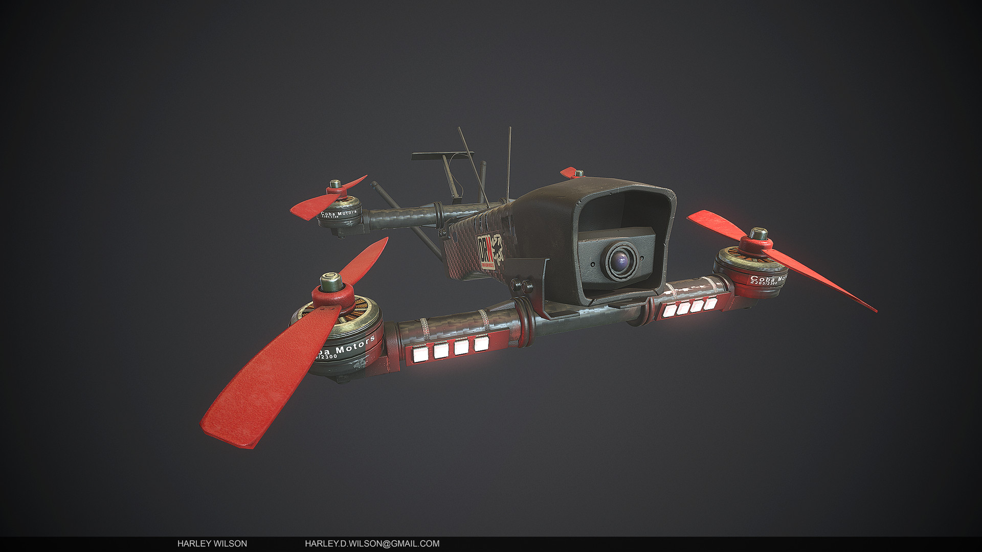 Harley wilson as drone c