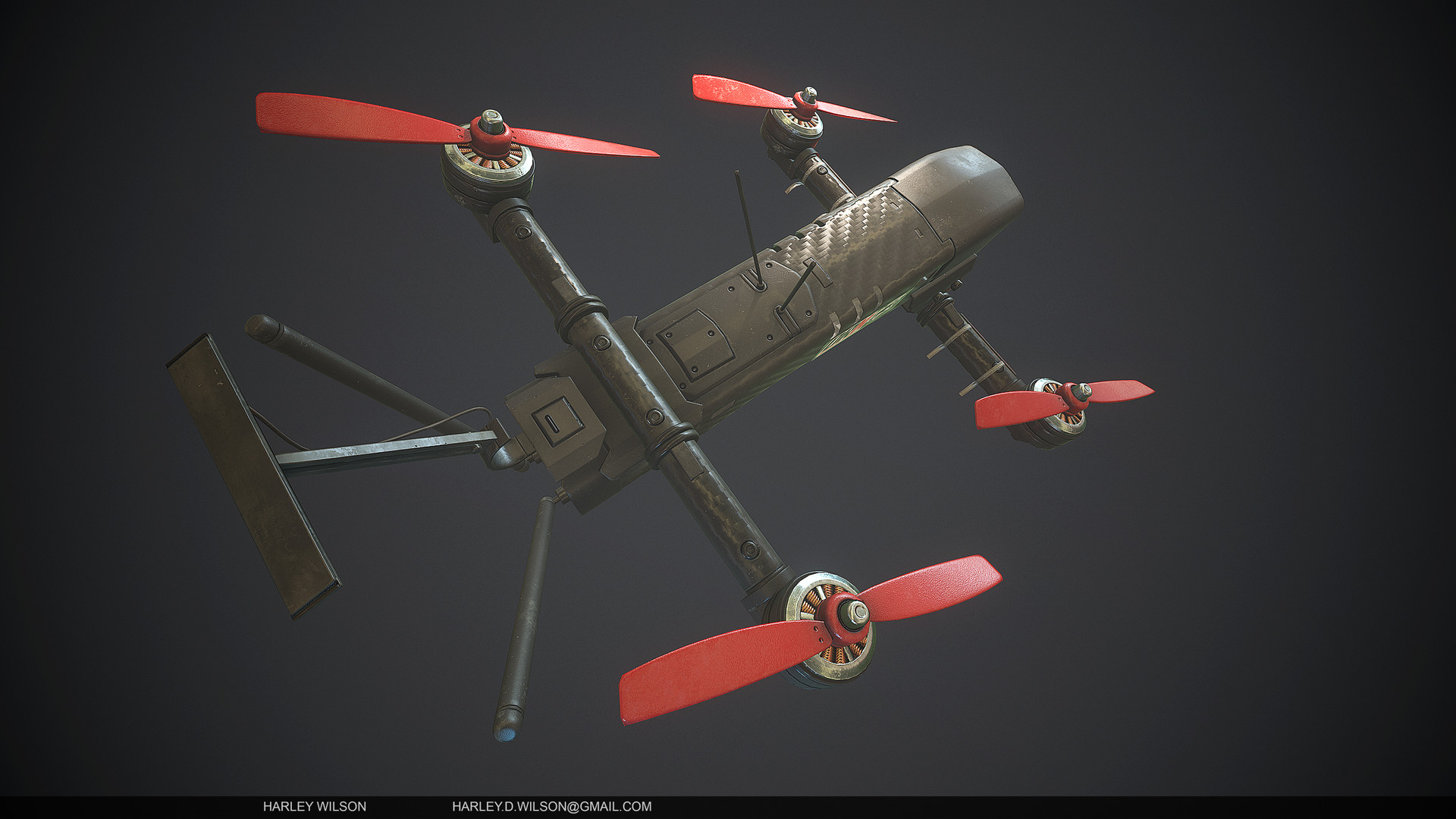 Harley wilson as drone d