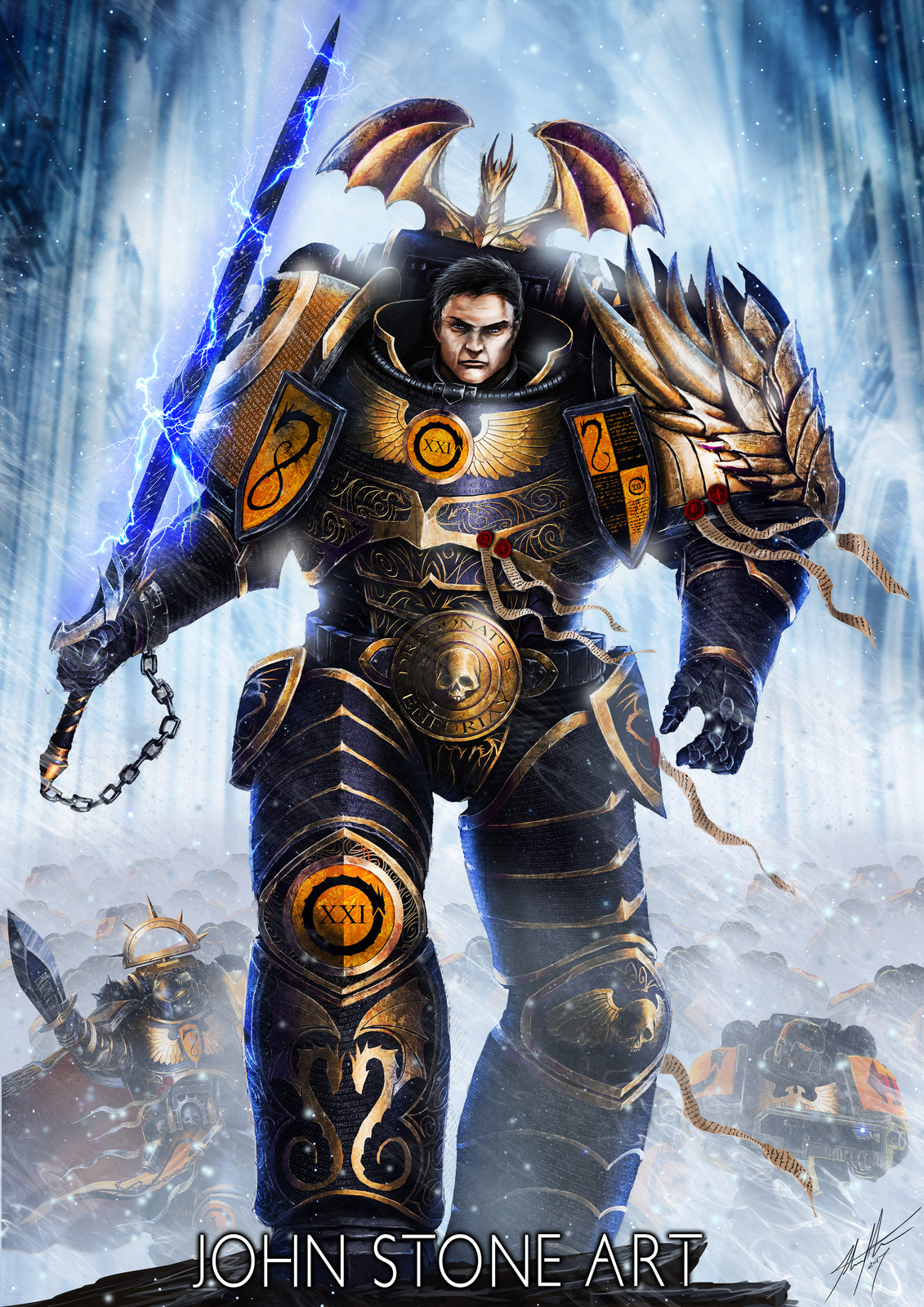 The Dragon Primarch