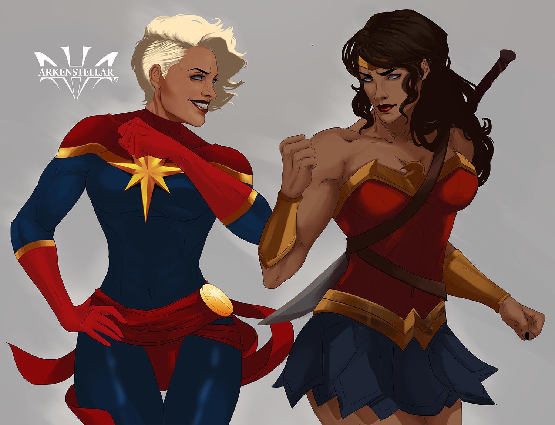 Arkenstellar  - Captain Marvel And Wonder Woman-9599