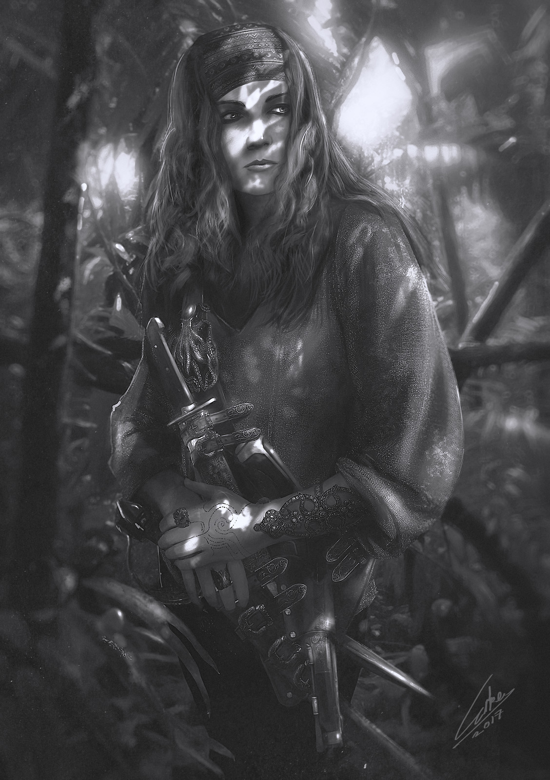 Pirate in Jungle