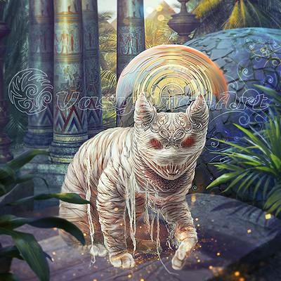 Vasilyna holod cat mummy