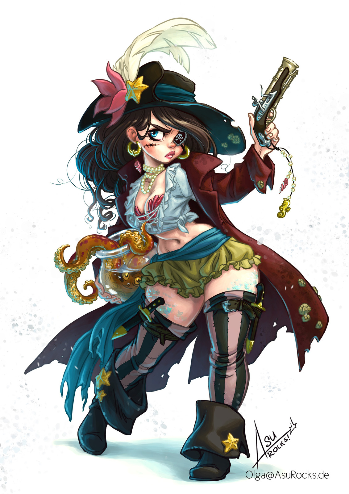 Pirate Mermaid