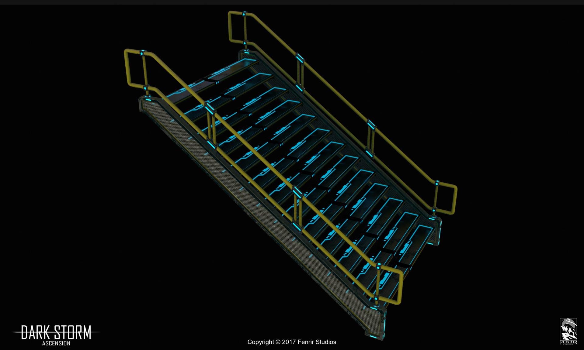 Nikolaos kaltsogiannis presentation stairs 01