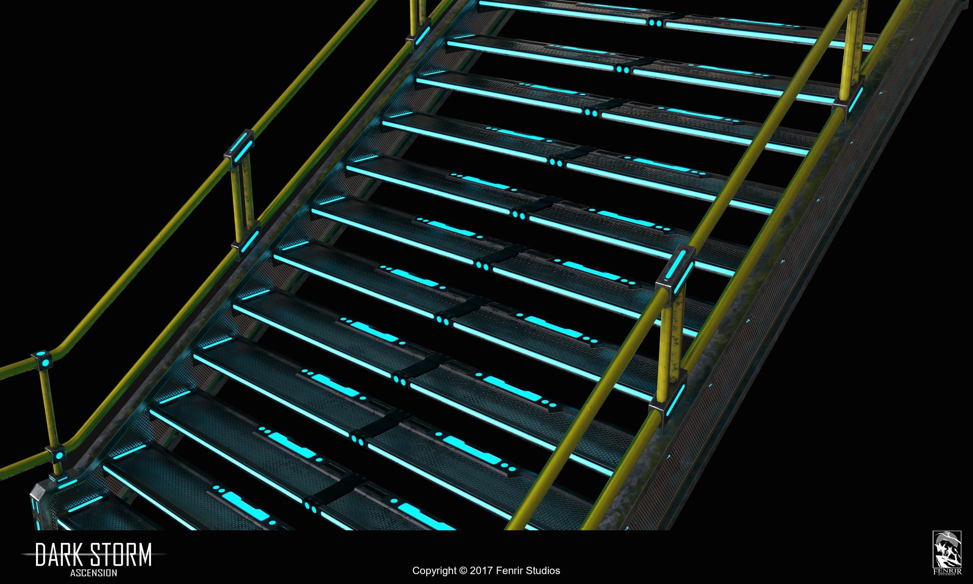 Nikolaos kaltsogiannis presentation stairs 5