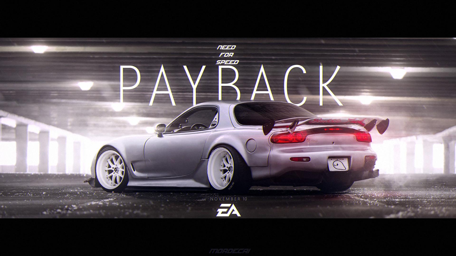ArtStation - NFS: Payback / GameArt, Verrottender Märtyrer
