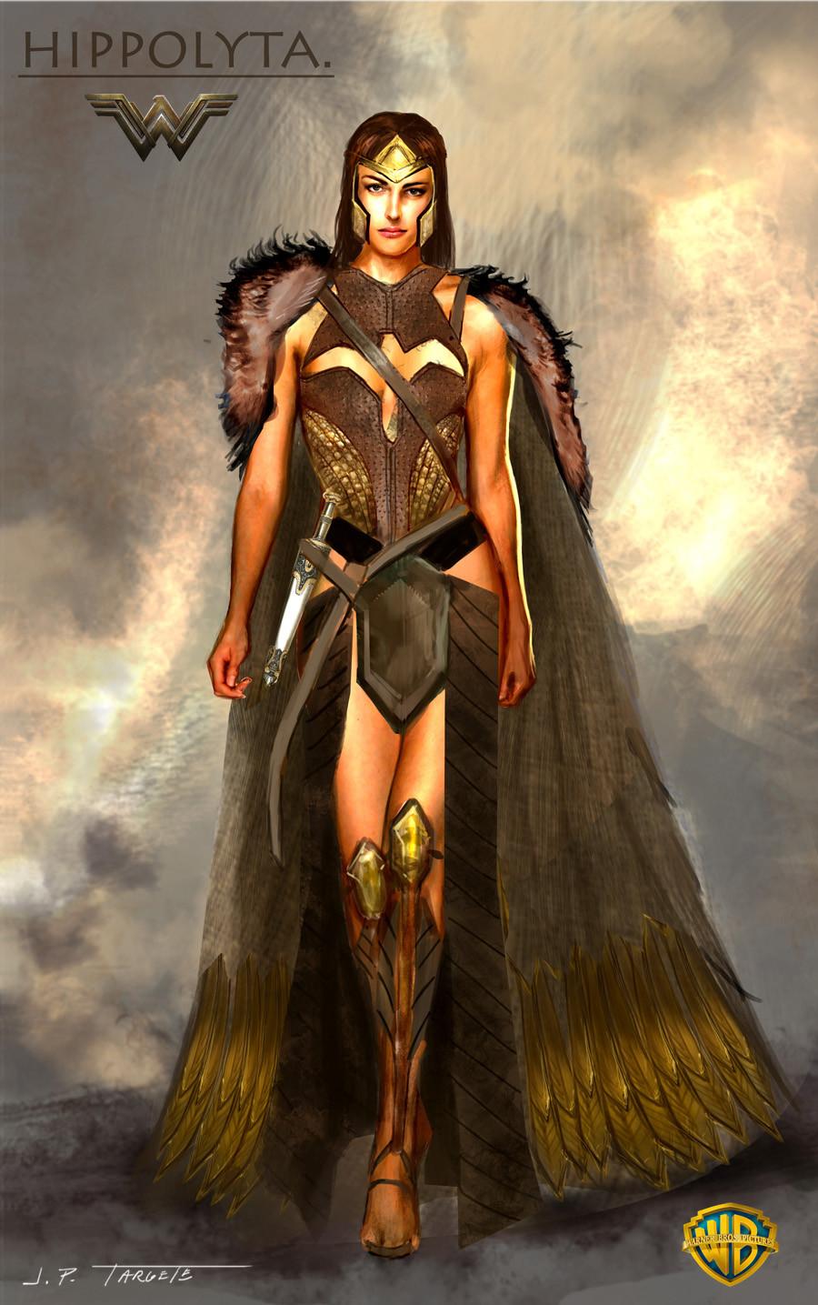 Artstation Wonder Woman Movie Costume Designs Jp Targete