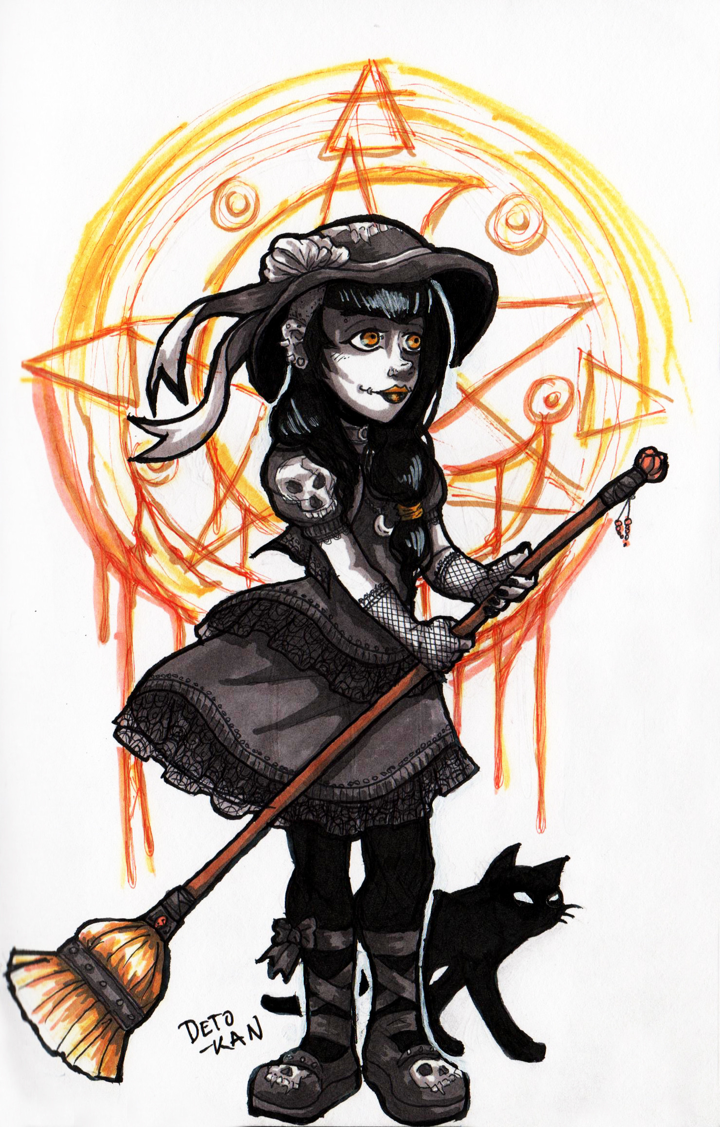 Detonya kan witch