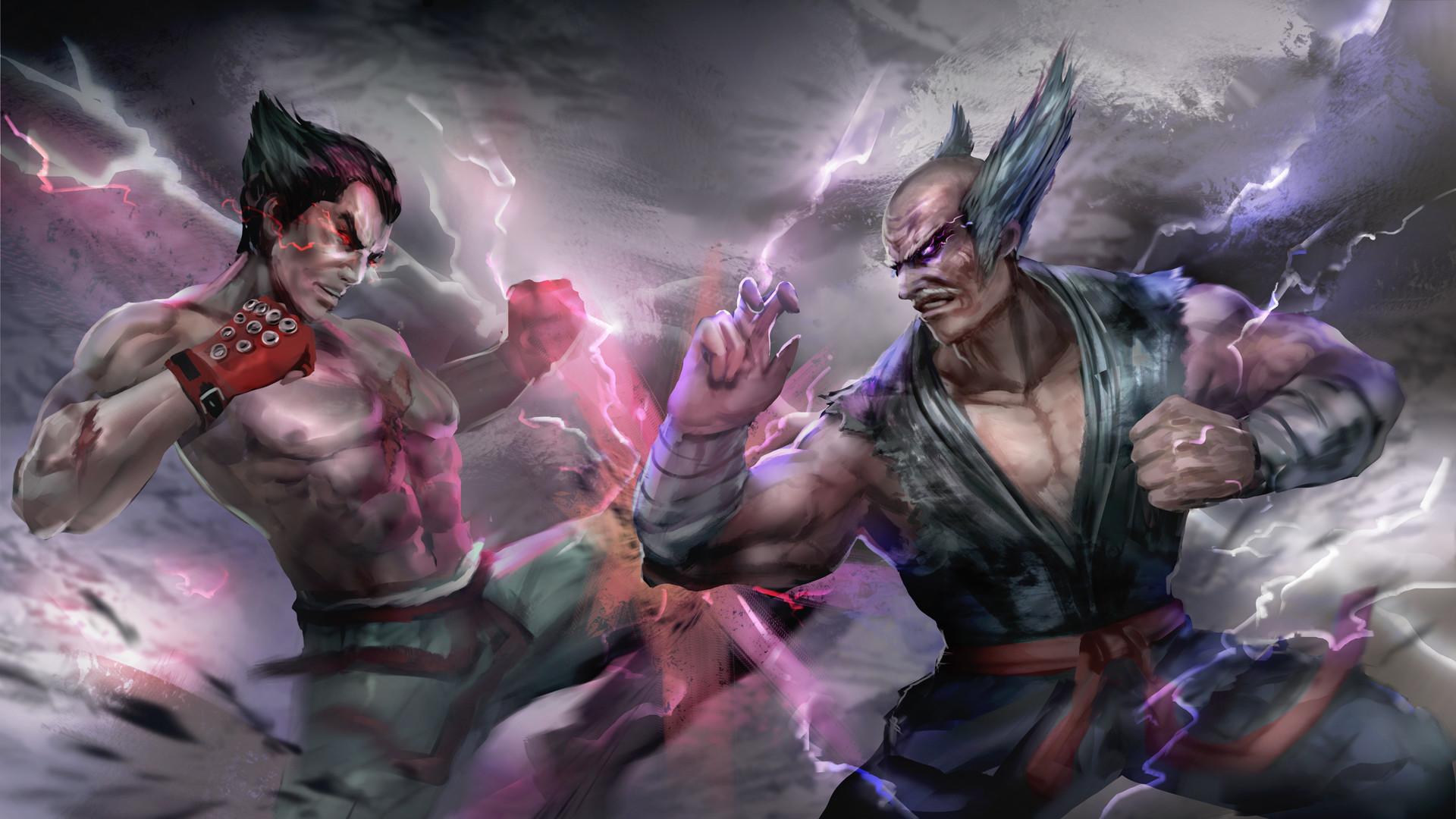 SPONSORED ART : Tekken 7, Yong Hui Ng
