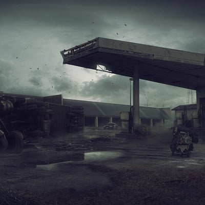 Pavel proskurin gas station 2