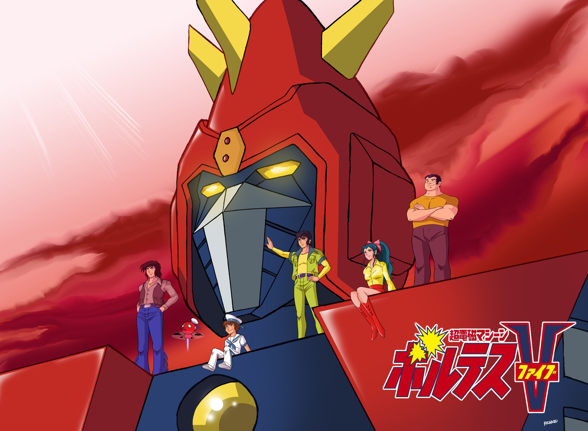 Voltes V Cartoon Characters : Voltes pictures to pin on pinterest thepinsta