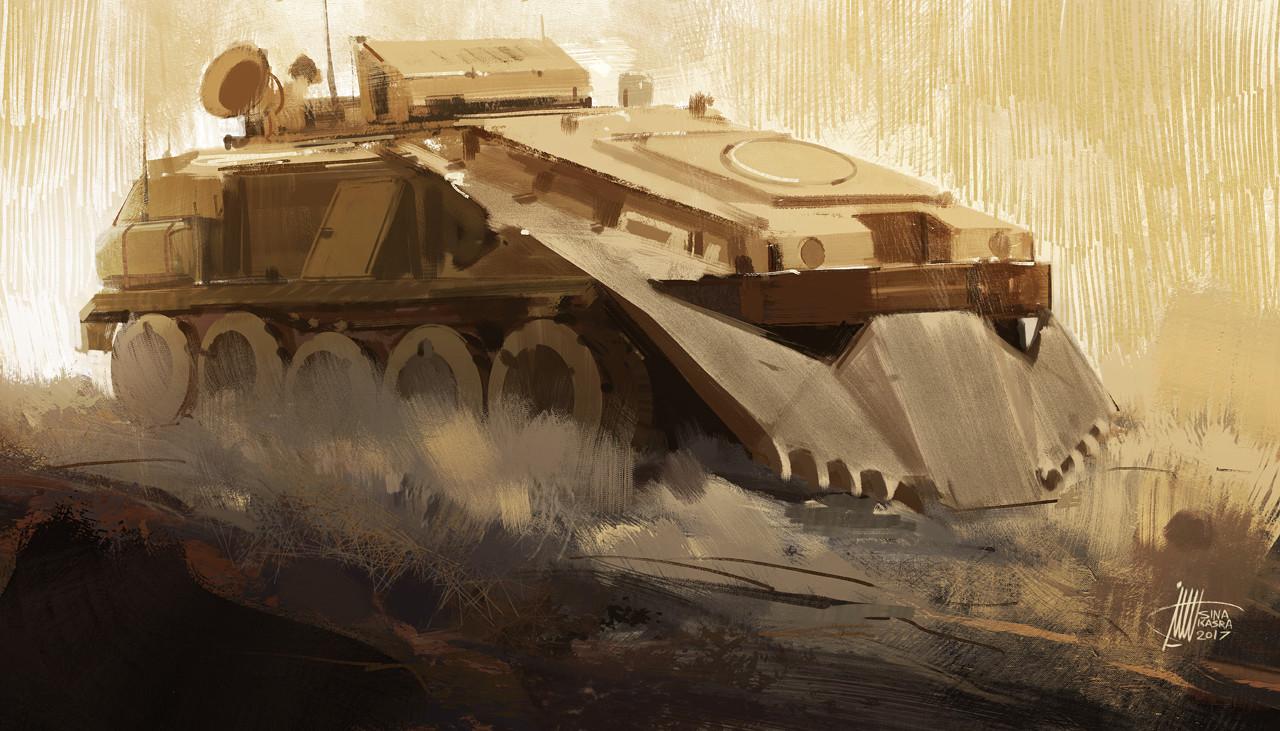Sina pakzx kasra armoured personnel carrier