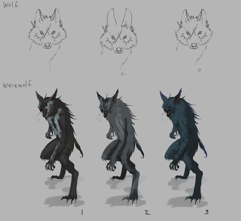Mignon z k werewolf wolf concepts