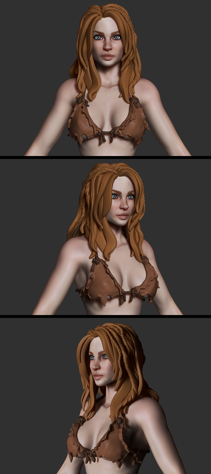 Jungle Girl WIP