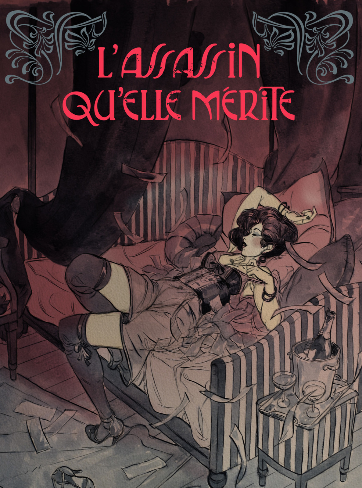 L'assassin qu'elle mérite tome 2 - cover