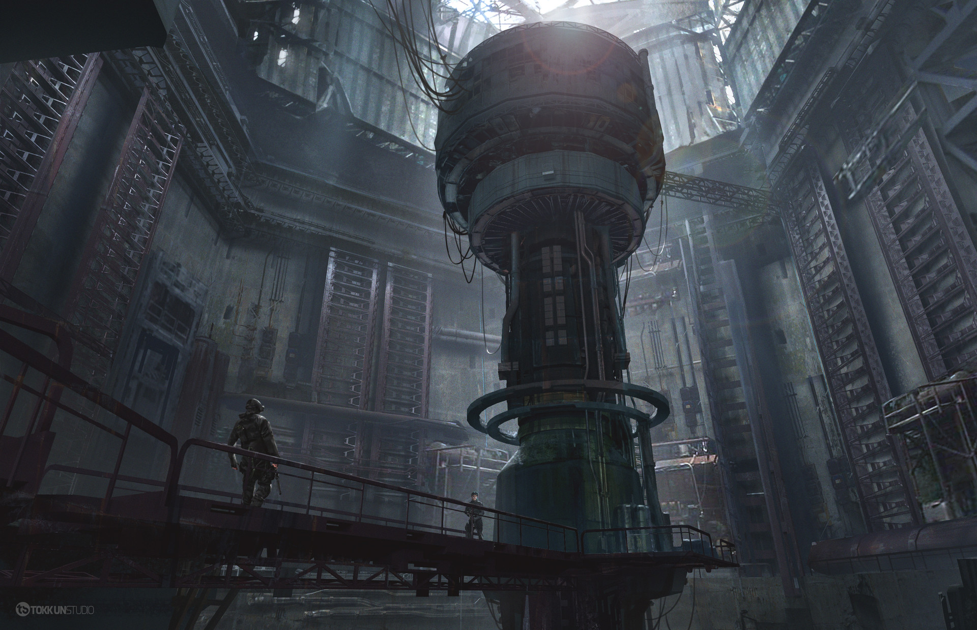 Tokkun studio nuclear reactor