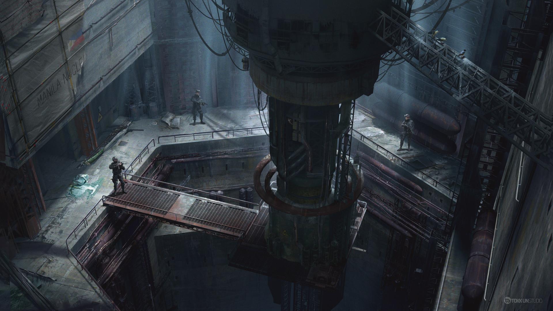 Tokkun studio nuclear reactor 02