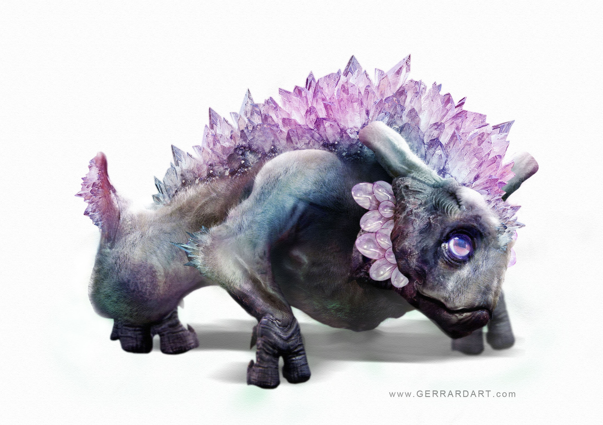 Paul gerrard crystal dog 02
