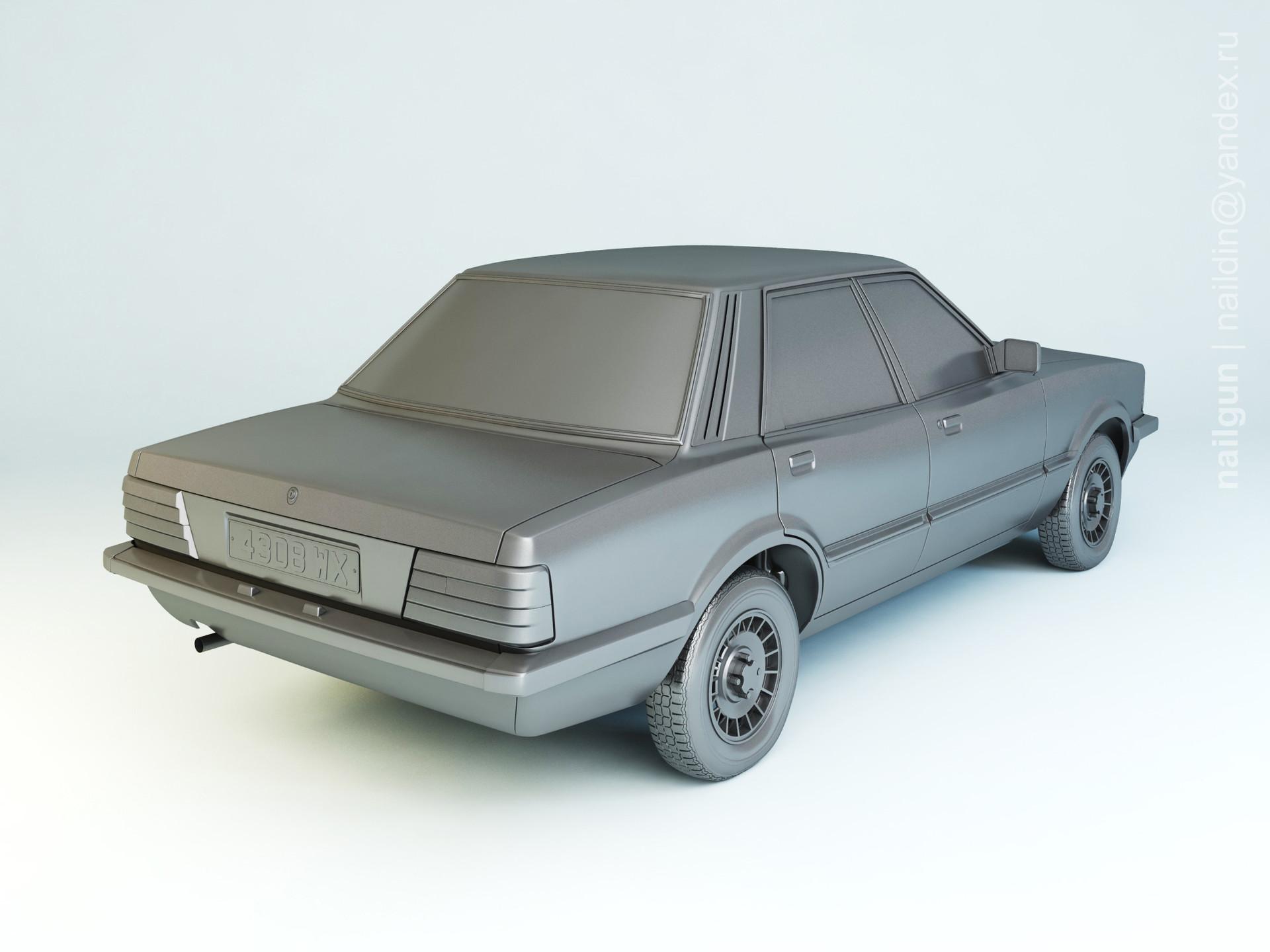 Nail khusnutdinov pwc 031 005 ford taunus tc3 modelling 1