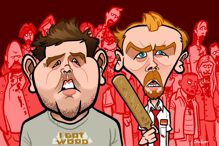 Nick Frost and Simon Pegg (Shaun of the Dead)