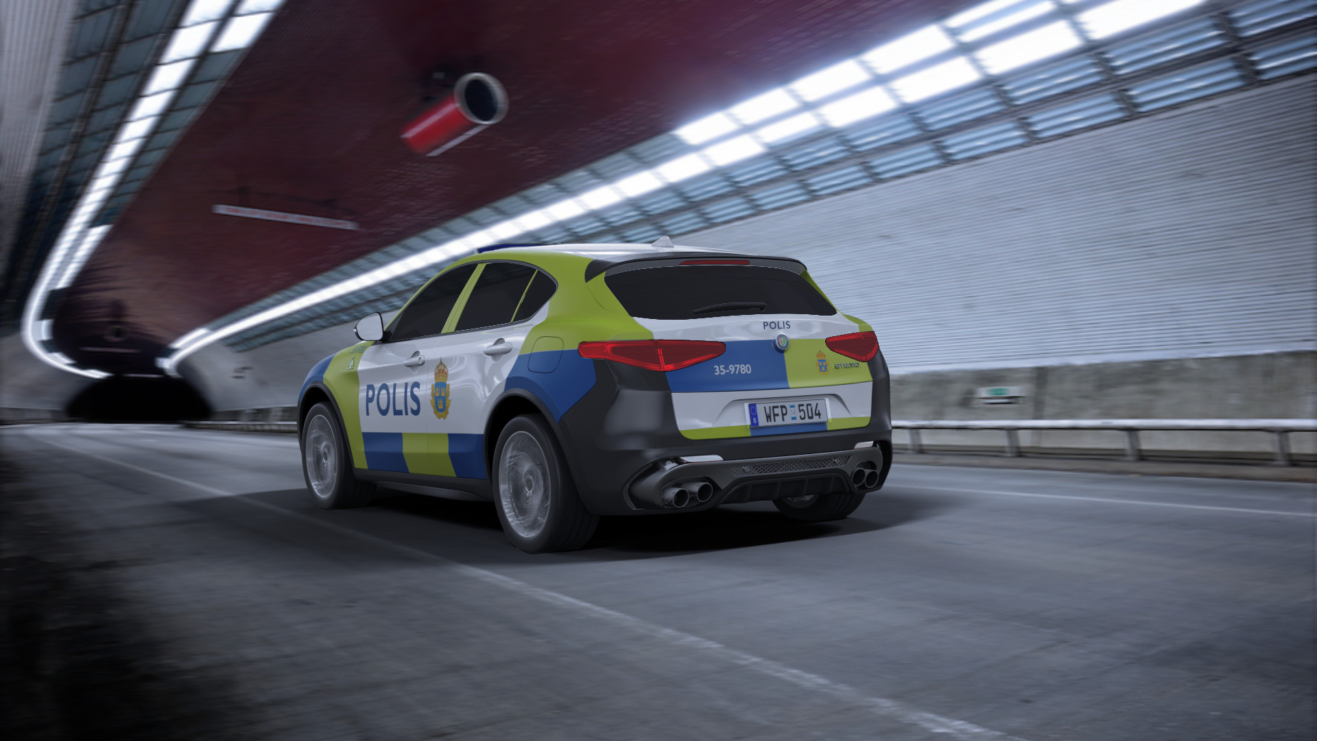 Police Car Website >> Monir Alami - Police car Alfa Romeo Stelvio