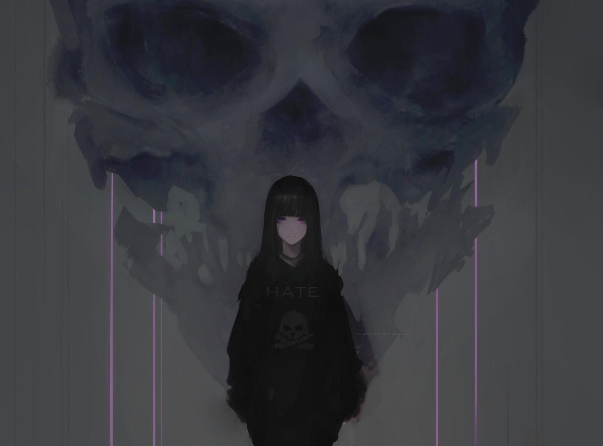 Aoi ogata hate skull22