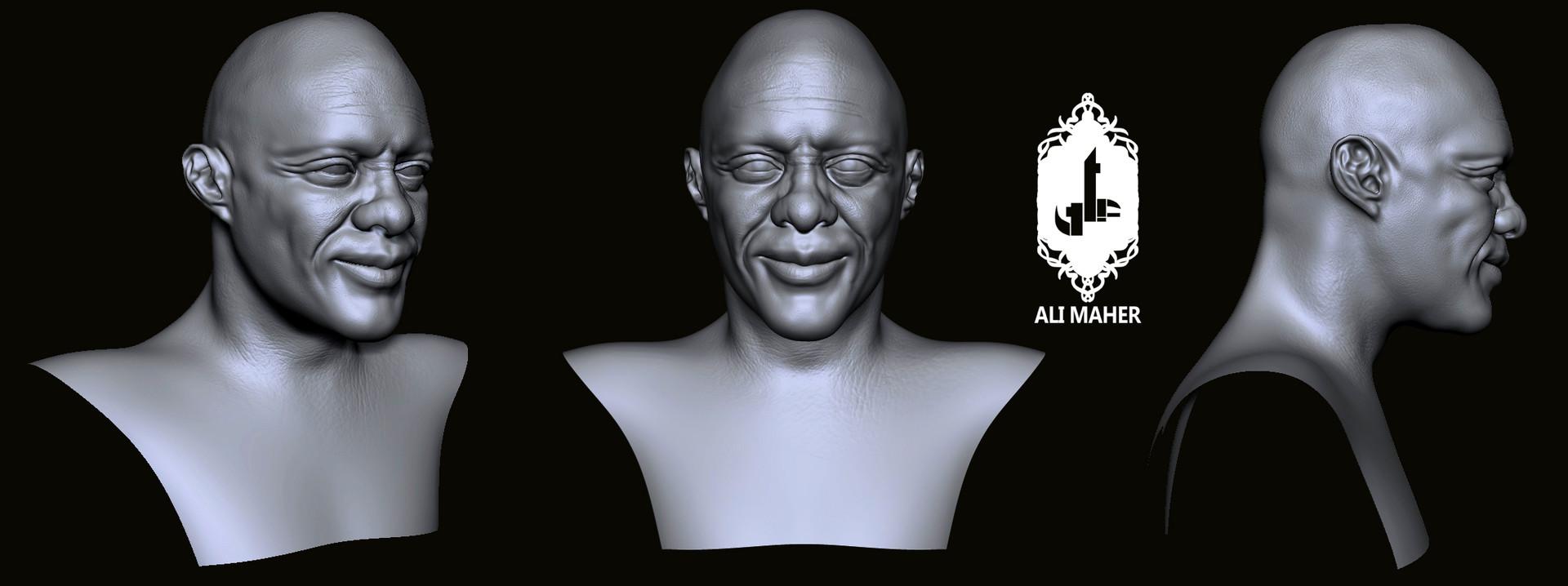 Ali maher all bald