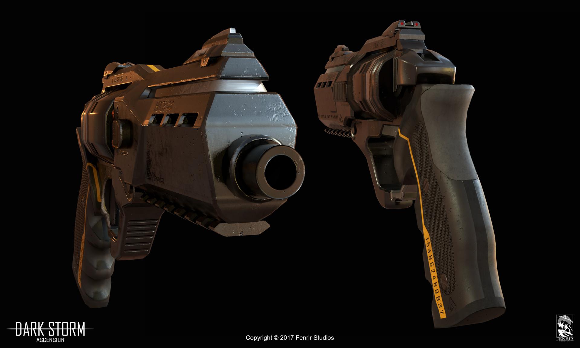 Nikolaos kaltsogiannis revolver presentation 04