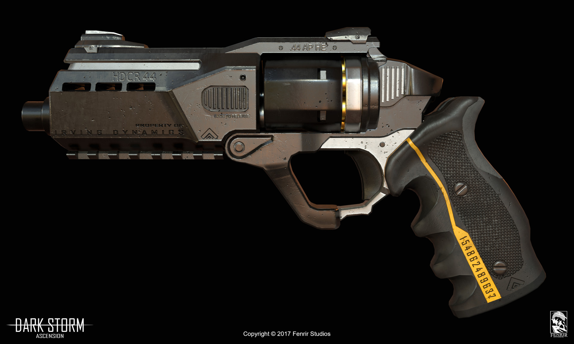 Nikolaos kaltsogiannis revolver presentation 02