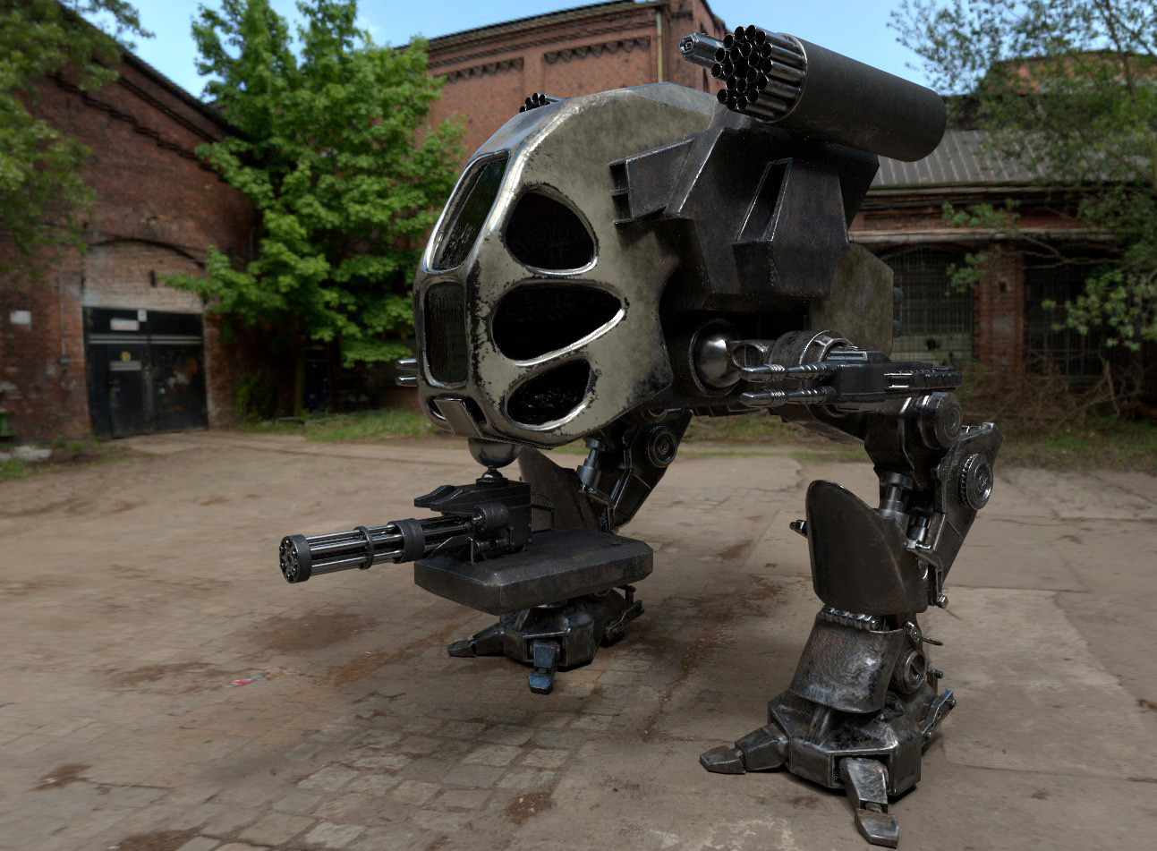 Texturing Exercise Mech