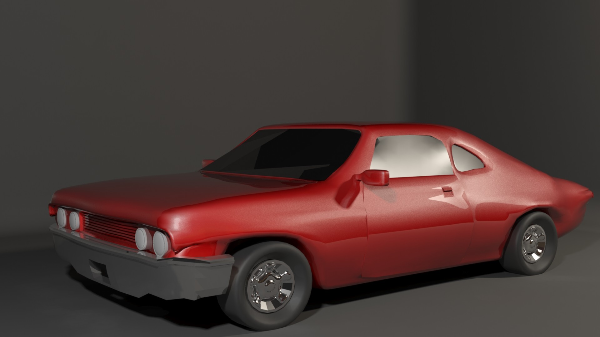 Artstation 3d Model Of A 1965 Chevrolet Impala Ss Sport