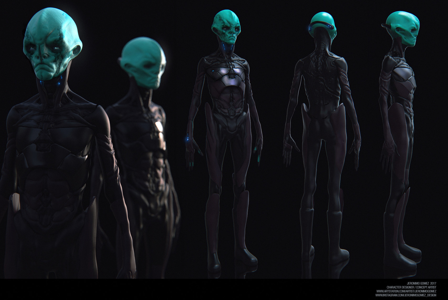 Jeronimo gomez alien update