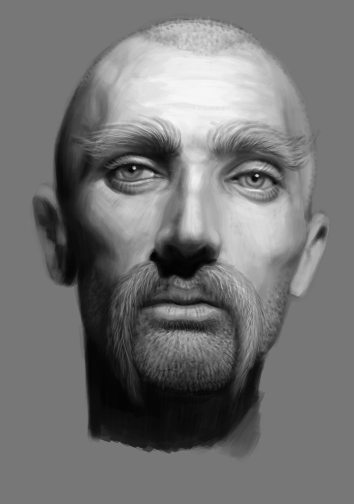 Luka trkanjec face study5
