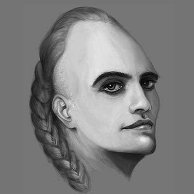 Luka trkanjec face study