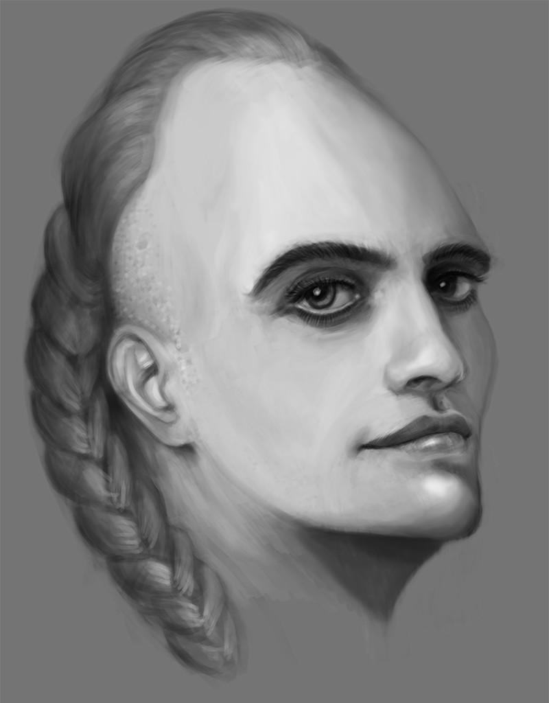 Luka trkanjec face study4