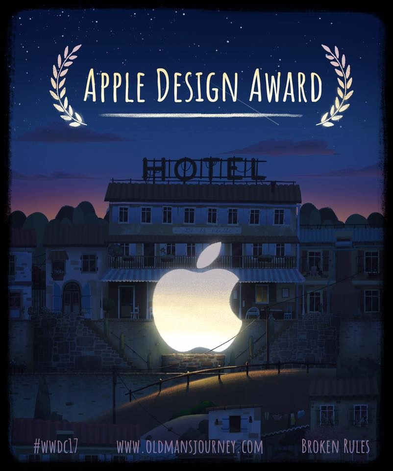 Old Man's Journey wins the Apple Design Award 2017