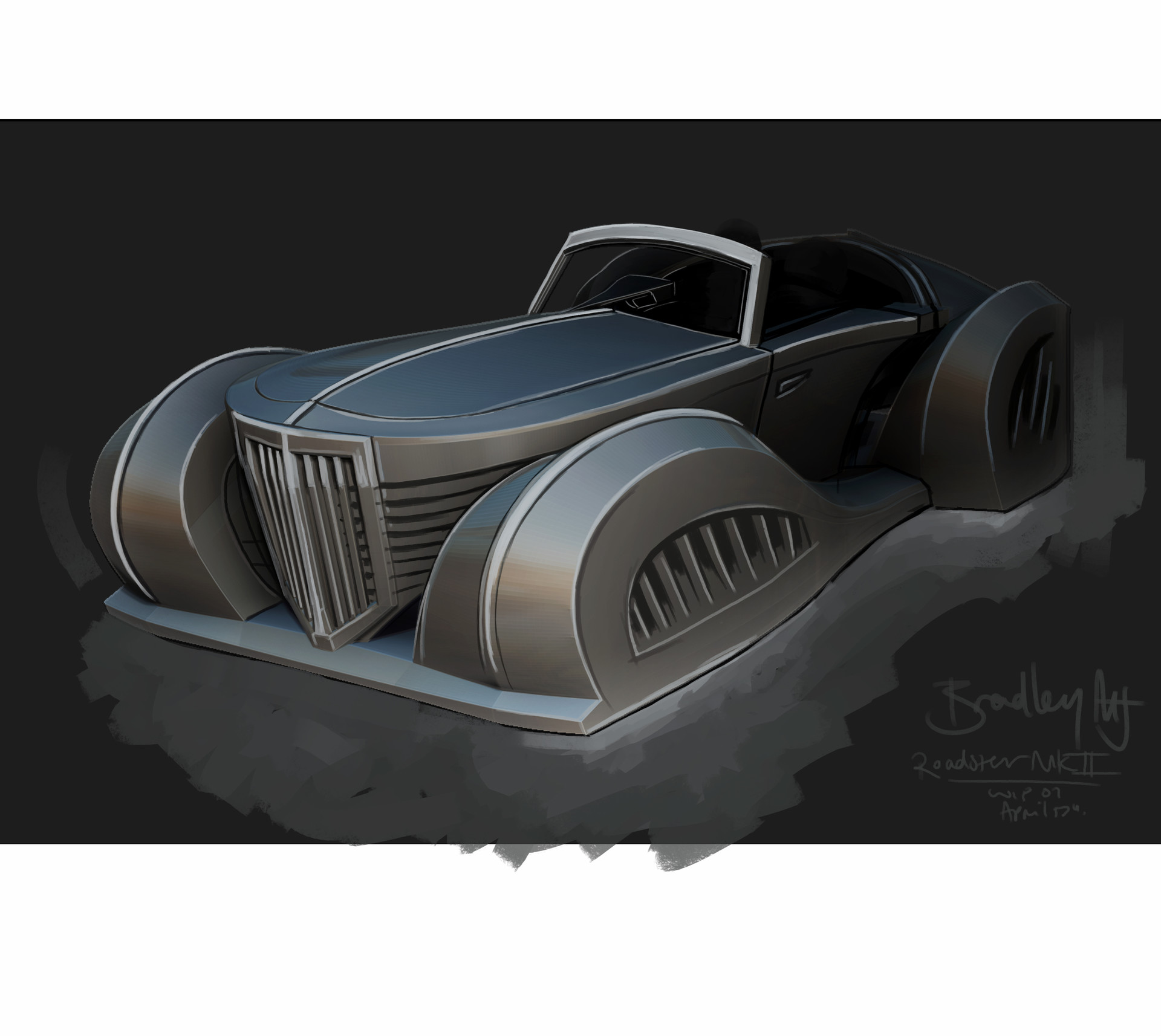 Bradley morgan johnson roadster mkii wip01 3qtr01
