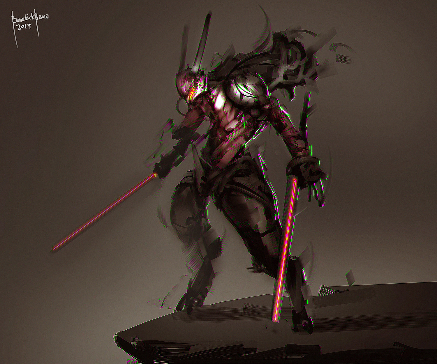 Benedick bana wabbit shaded coloring2 lores