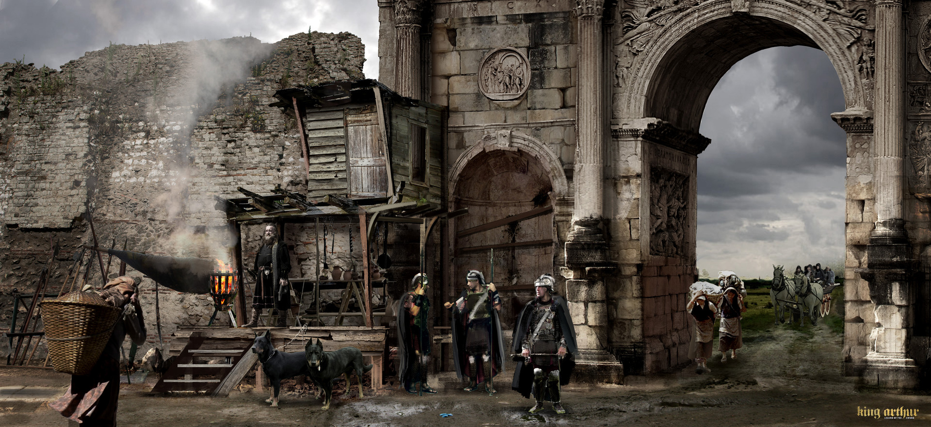 Kieran belshaw arch entrance v004